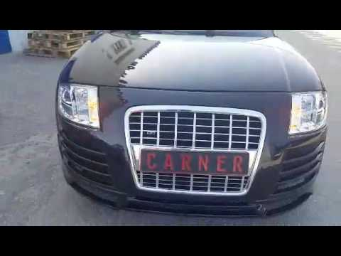 audi tt body kit r8 look & headlights tailights by carner www carner gr