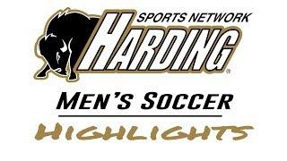 2018 Harding Men's Soccer Goals vs  Oklahoma Baptist