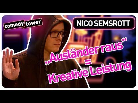 Nico Semsrott | Ausländer raus = Kreative Leistung | Comedy Tower