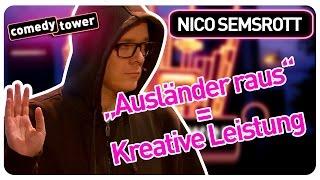 "Nico Semsrott | ""Ausländer raus"" = Kreative Leistung | Comedy Tower"