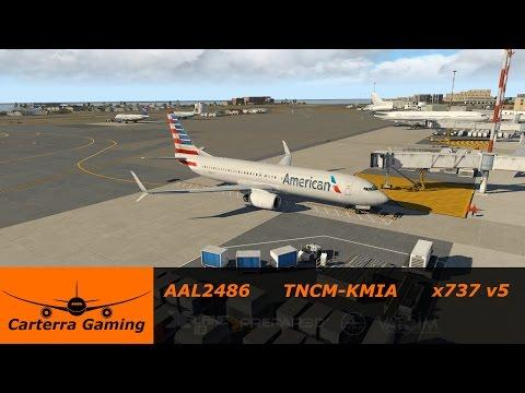 EADT x737 v 5 Test Flight (LOWW-LOWW) [X-Plane] by LimaZulu