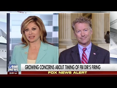 Sen. Rand Paul Discusses Comey and Surveillance with Maria Bartiromo - May 11, 2017