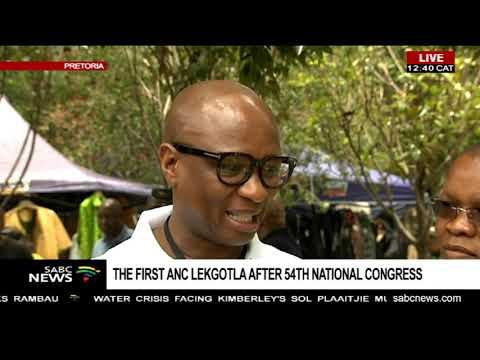 ANC Lekgotla Media briefing, Pretoria