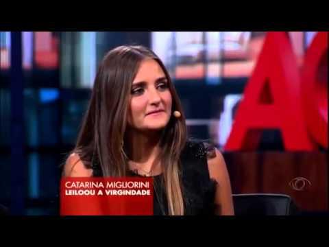 Agora è Tarde - 08_03_2013 - Danilo Gentili entrevista a Virgem Catarina Migliorini