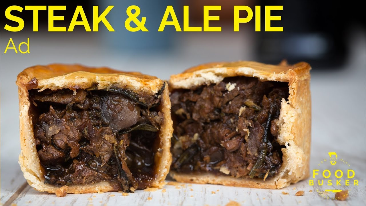 STEAK PIE | use STOUT not ALE - YouTube