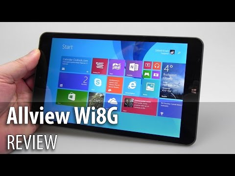 Allview Wi8G Review (Windows 8.1 3G Tablet) - Tablet-News.com