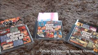 [HD] Grand Theft Auto: The Trilogy UNBOXING
