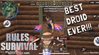 MY F RST GAME AS DRO D W TH CDC   Rules of Survival Tagalog