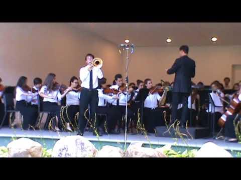 Ferdinand David Trombone Concertino at Lake Luzerne music center