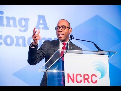 NAACP President and CEO Cornell William Brooks | NCRC 2016 ...