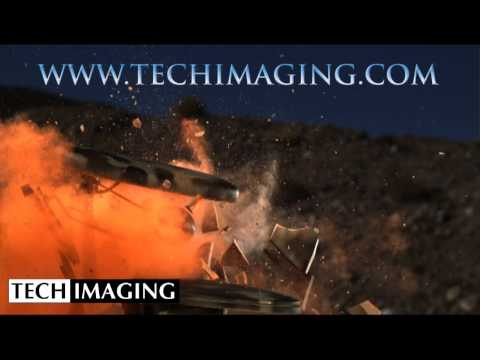 High Speed Camera Video - Exploding Toilet