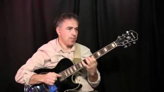 Up Jumped Spring, Freddie Hubbard - solo fingerstyle jazz guitar by Jake Reichbart