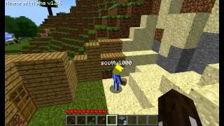 minecraft survival multiplayer part 1 building a place to call home
