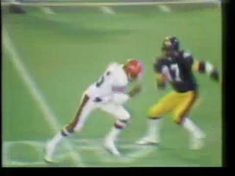 1977 10 17 MNF Bengals at Steelers
