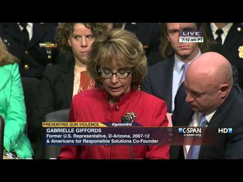 Former Rep. Gabrielle Giffords Opening Statement (C-SPAN)