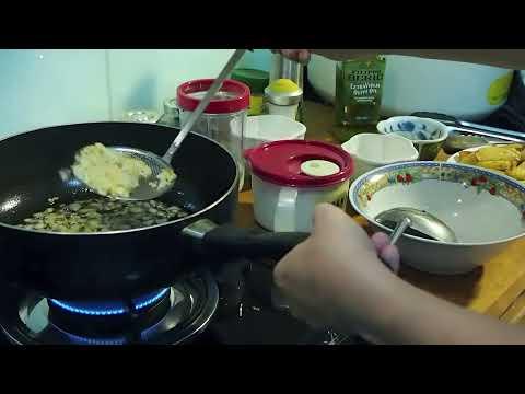 Recipe Bergedil with Pan Seared Salmon