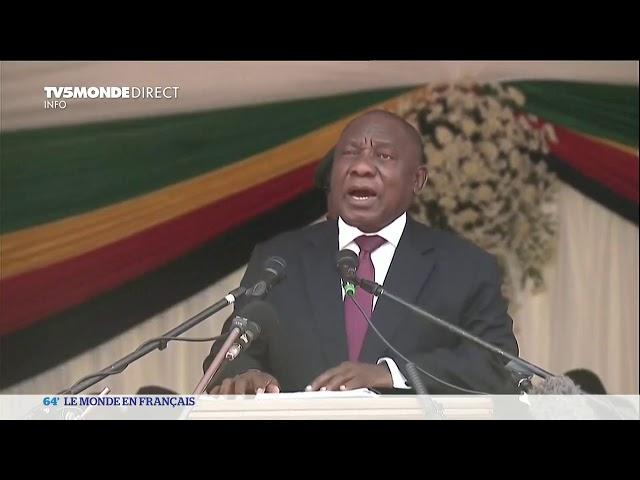 Zimbabwe : obèques de Robert Mugabe à Harare