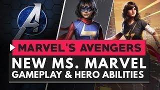 MARVEL'S AVENGERS | New Ms. Marvel Gameplay & Abilities