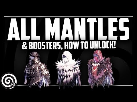 ALL MANTLES & BOOSTERS - How to Unlock them! | Monster Hunter World