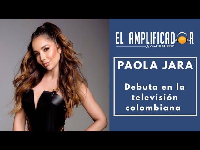 PAOLA JARA EN UN BANDIDO HONRADO - CARACOL TV - ENTREVISTA [EL AMPLIFICADOR]