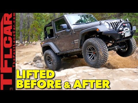 Before and After: Does Lifting A Jeep Wrangler Make it Better Off-Road?