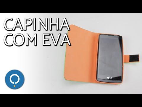 Como fazer capinha para celular com EVA