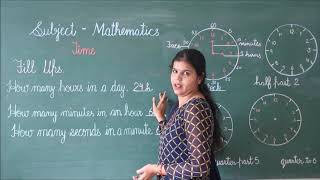 RIS // CLASS:- 2ND // SUBJECT:- MATHS // TOPIC:- TIME //