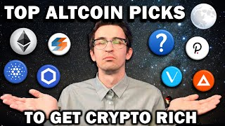 MY 15 ALTCOIN PICKS TO GET CRYPTO RICH 🚀