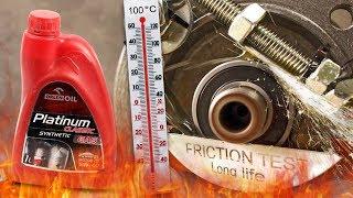 Orlen Platinum Classic Gas 5W40 Jak skutecznie olej chroni silnik? 100°C