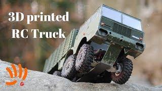 RC Expedition 3D printed truck Tatra 813 8x8 + 25 trucks - Ema Hill 2018 trail