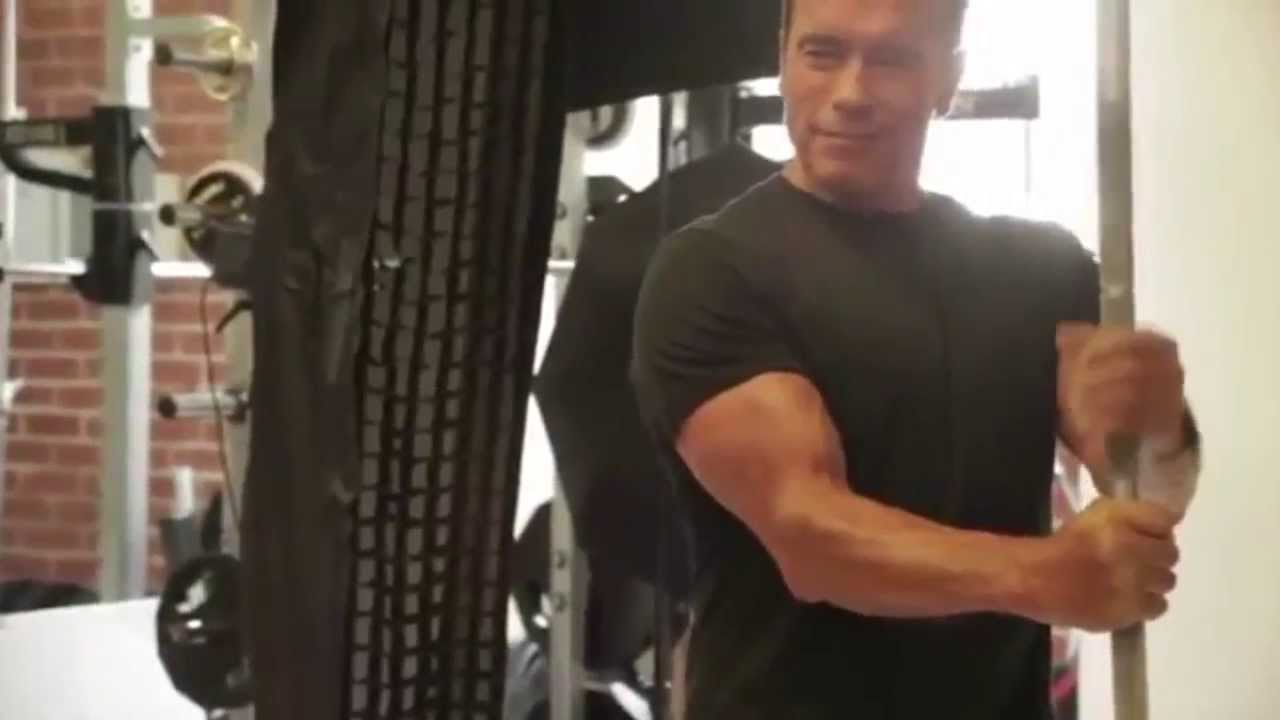 Arnold schwarzenegger new training video october 2013 muscle arnold schwarzenegger new training video october 2013 muscle fitness hd youtube malvernweather Images