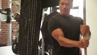 Arnold Schwarzenegger NEW Training Video | OCTOBER 2013 | Muscle & Fitness [HD]