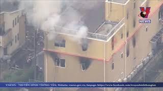 23 người thiệt mạng do cháy xưởng phim hoạt hình ở Nhật Bản
