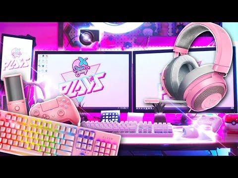 My Twitch Stream and YouTube Recording Setup + Razer Quartz Unboxing!