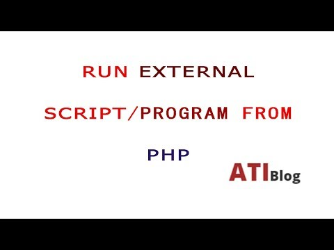How To Run Windows Shell Commands From PHP