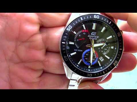 Часы Casio EDIFICE EFR-552D-1A3 - видео обзор от PresidentWatches.Ru 2ac507999ce8