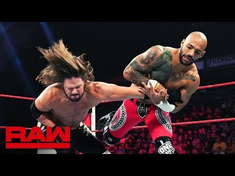 Ricochet vs. AJ Styles: Raw, June 24, 2019