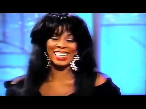 Donna Summer - Arsenio Hall Interview (1989)
