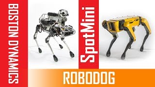 Pet dog is a robot !! The NEW SpotMini from OLD SpotMini Introducing Boston Dynamics | future tech