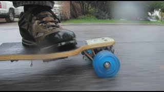 Shark Wheel Rain Test