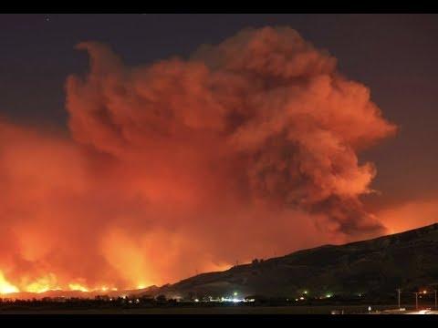 "Breaking: ""California Wildfires Threaten LA And San Diego"""