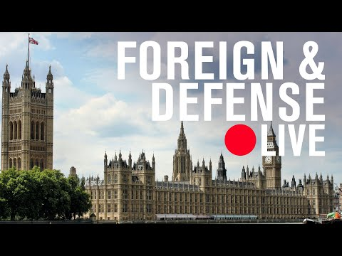 UK Foreign Affairs Committee chair Tom Tugendhat on 'Global Britain' | LIVE STREAM