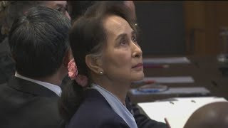 Myanmar leader Aung San Suu Kyi rejects genocide charges