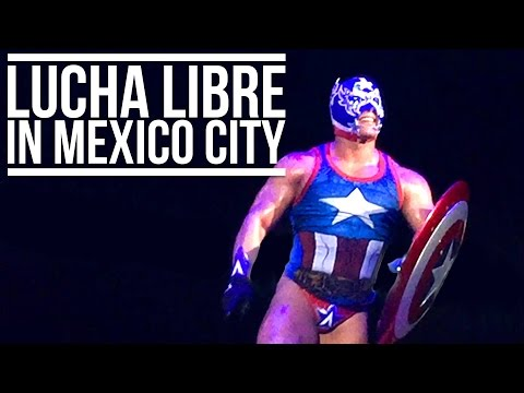LUCHA LIBRE IN MEXICO CITY | Eileen Aldis