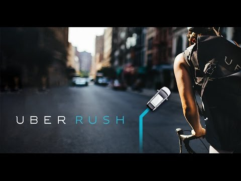 How to do Uber rush deliveries step by step