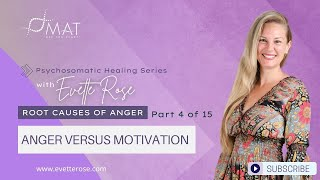Root Causes of Anger Part 4 of 15 Anger Versus Motivation