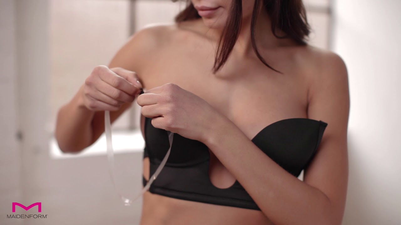 71d9cb896fe Maidenform Accessories Sexy Plunge Bra - YouTube