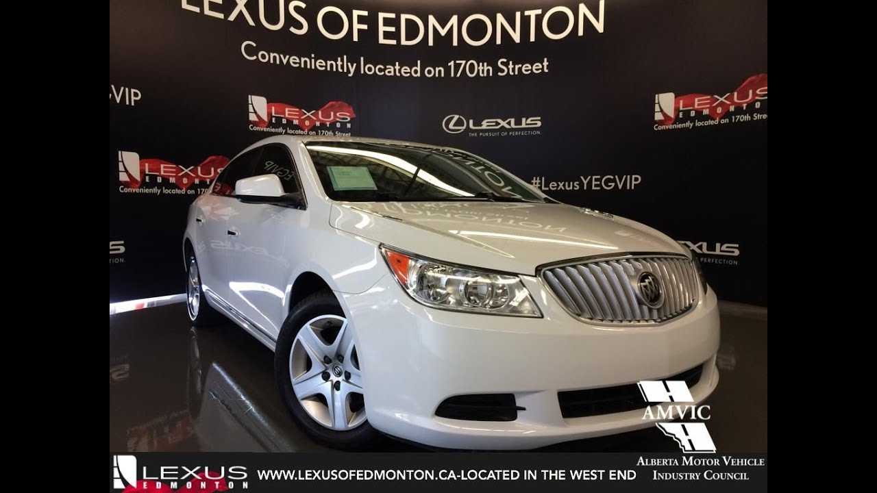Used 2010 white buick lacrosse cx fwd v6 in depth review grande used 2010 white buick lacrosse cx fwd v6 in depth review grande cache alberta publicscrutiny Images