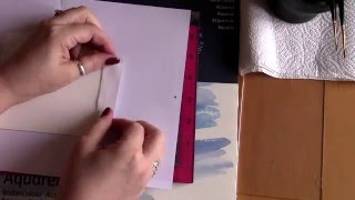 Distress Ink Colouring  Tutorial 2 - Prepping Your Image