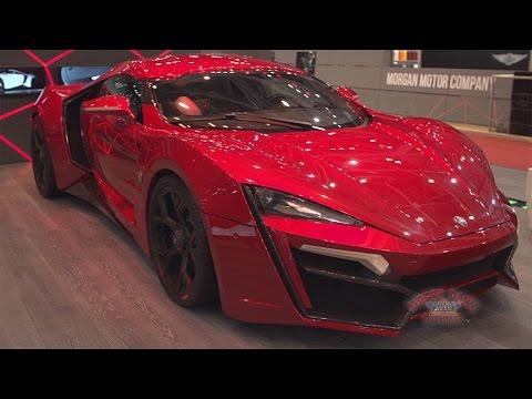 2016 Geneva Motor Show - Magna Lycan Hyper Sport highlights
